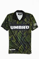 Umbro X House Of Holland Snake Print Polo Shirt