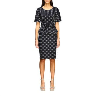 Moschino Dress Dress In Polka Dot Cotton