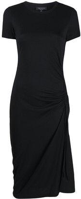 Rag & Bone Ruched Detail Midi Dress