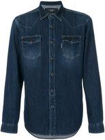 Hydrogen fitted denim shirt