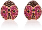 Begum Khan Ladybug Cufflinks