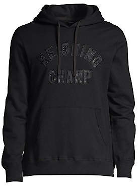 Reigning Champ Men's Club Logo Hoodie