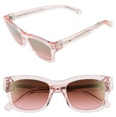 Bobbi Brown Women's 'The Ellie' 51Mm Sunglasses - Crystal