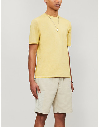 Folk Assembly classic-fit crewneck cotton-jersey T-shirt
