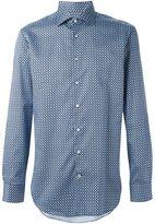 Etro geometric print shirt - men - Cotton - 41