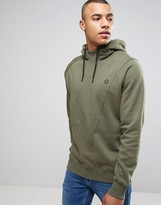 Jack and Jones Core Overhead Hoodie with Asymmetrical Seam Detail