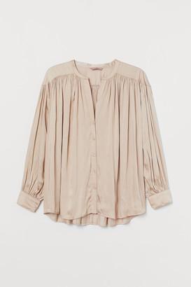 H&M H&M+ Draped blouse