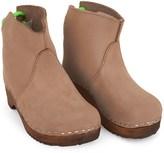 Tannhauser Neon Green Back Clog Boots