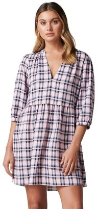 Forever New Emma Check Smock Dress