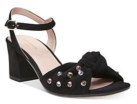 Kate Spade Women's Emilia Crystal-Embellished Block Heel Sandals