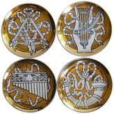 One Kings Lane Vintage Fornasetti Musicalia Coasters
