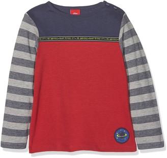 S'Oliver Baby Girls' 65.711.31.7677 Longsleeve T-Shirt