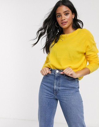 Brave Soul rony jumper in yellow