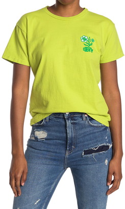 Obey Bloom Crew Neck T-Shirt