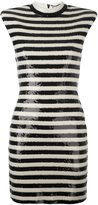 Saint Laurent punk sleeveless dress - women - Polyamide/Polyester/Spandex/Elastane/Viscose - M