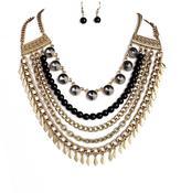 Riah Fashion Boho Statement Necklace