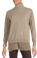 Brunello Cucinelli Solid Cashmere Turtleneck Sweater