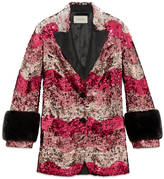 Gucci Sequin snake jacket