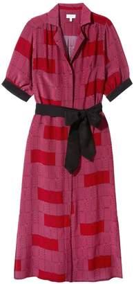 Somerville . Feel The Love Silk Maxi Dress