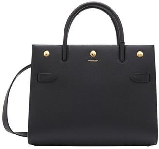 Burberry Title medium leather handbag