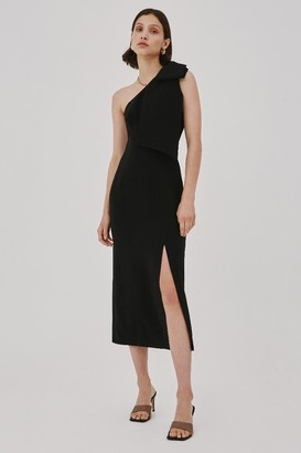 C/Meo VALANCE DRESS Black