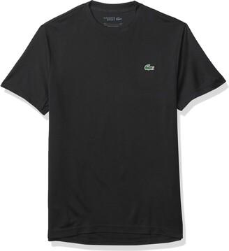 Lacoste Men's Sport Short Sleeve Solid Ultra Dry T-Shirt