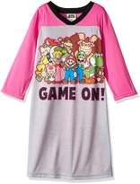 Nintendo Super Mario Nightgown for girls