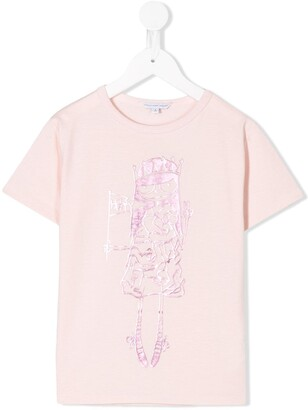 Little Marc Jacobs Let's Party-print T-shirt