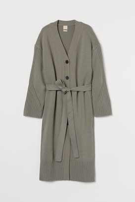 H&M Long wool-blend cardigan