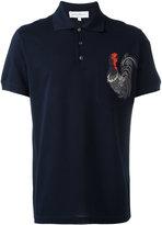 Salvatore Ferragamo cockerel polo shirt