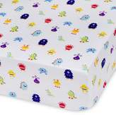 Olive Kids Monsters Multicolor Fitted Crib Sheet