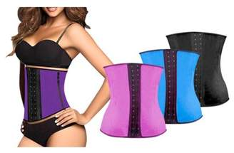 Igia Fajas colombianas body shaper Women's Adjustable Waist Trainer - Black (XL)