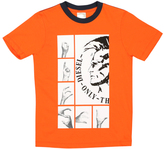 Diesel Vitamin Orange Graphic Tee - Boys