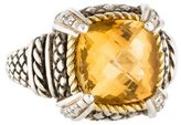 Ring Andréa Candela Citrine & Diamond Cocktail
