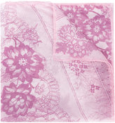 Ungaro floral print scarf - women - Silk - One Size