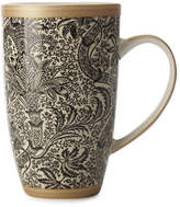 Maxwell & Williams William Morris Black Seaweed Coupe Mug