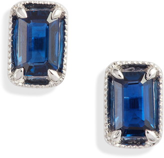Bony Levy El Mar Sapphire Stud Earrings