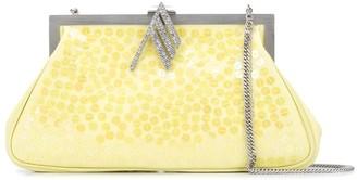 ATTICO Alma sequin-embellished shoulder bag