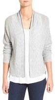 Eileen Fisher Tencel ® Lyocell & Wool Blend Boxy Cardigan