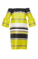 Blugirl Striped Wide Sleeve Dress