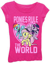 Freeze My Little Pony Pink 'Rule' Cap-Sleeve Tee - Toddler & Girls