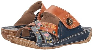 Spring Step L'Artiste by Leigh (Navy Multi) Women's Shoes