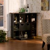 Southern Enterprises Black Bar with Fold-out Feature