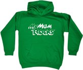 123t Kids My Mum Rocks (Age-3-4 - KELLY) KIDS HOODIE