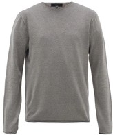 Rag & Bone Trent Knitted Sweater - Mens - Grey
