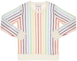 Madeleine Thompson Striped Cashmere Knit Sweater