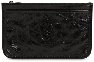 Saint Laurent Niki Bill Vintage Leather Pouch