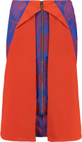 Roland Mouret Clerges printed crepe skirt