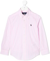 Ralph Lauren Kids long sleeved cotton shirt