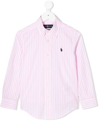 Ralph Lauren Kids Long Sleeved Cotton Shirt